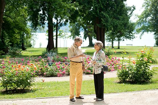KWA Parkstift Rosenau in Konstanz: der Stiftspark