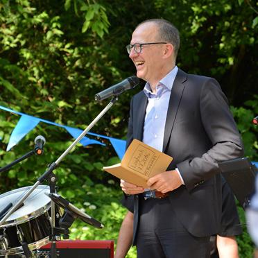 Vorstand Dr. Stefan Arend, 50 Jahre KWA - Jubiläumsfeier im KWA Parkstift St. Ulrich in Bad Krozingen