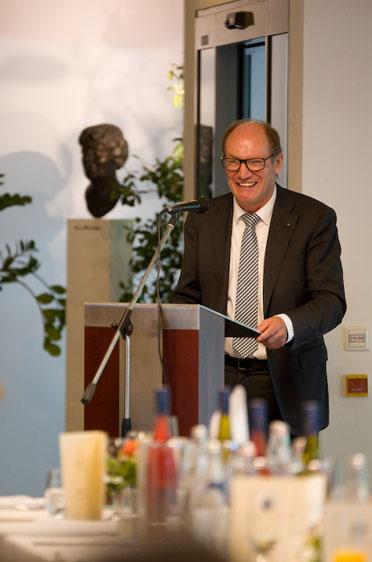 KWA Vorstand Horst Schmieder, Jubiläumsfeier im KWA Luise-Kiesselbach-Haus
