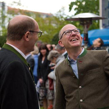Die beiden KWA Vorstände Horst Schmieder und Dr. Stefan Arend