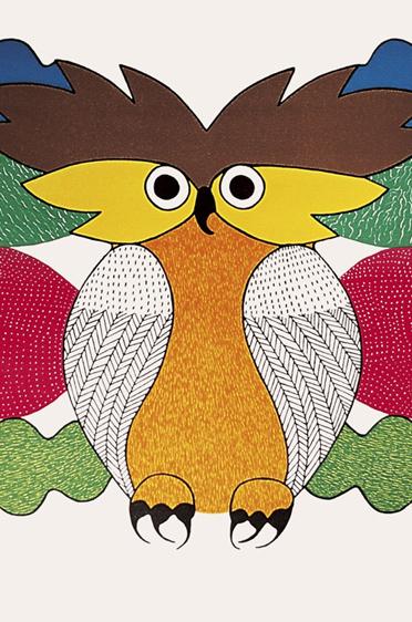 """Spirit of the Owl"" Kenojuak 1980"