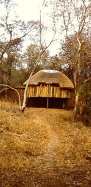 Game Reserve der Wild Life Society, Beobachtungshütte für Wild