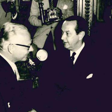 Präsident Ruiz Cortines, 1956