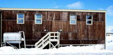 Siedlungshaus in der Arktis