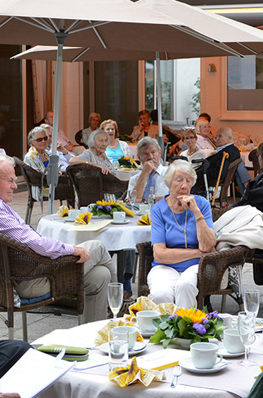 Feier im Rupertihof zum 50sten Geburtstag von KWA Kuratorium Wohnen im Alter