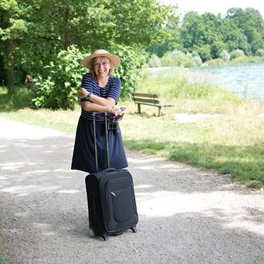 KWA Parkstift Rosenau in Konstanz, Mitarbeiterin am Bodensee