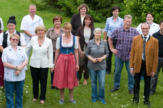 KWA Stift Rupertihof in Rottach-Egern, Gruppenfoto