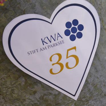 Das KWA Stift am Parksee in Unterhaching feierte am 10. Mai 2019 sein 35-jähriges Bestehen.