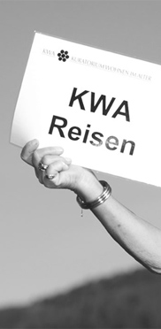 KWA Reisen mit Leiterin Margret Rosenmüller