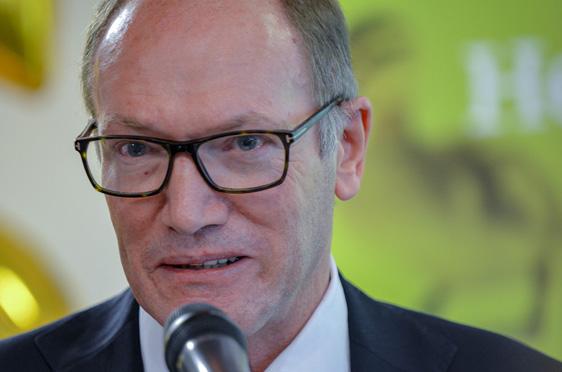 KWA Vorstand Horst Schmieder berichtete, dass man mit der Kommune Unterhaching bereits Gespräche über die Erweiterung des KWA Stifts am Parksee führe.