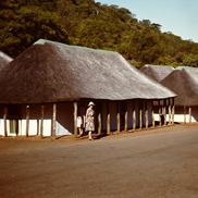 Nördlichstes und ältestes Camp im Kruger National Park, mit auf dem Bild Frau Schulte