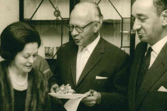 Empfang in der Botschaft von Marokko, 1966