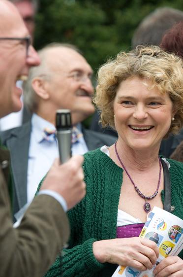 Ursula Cieslar, Stiftsdirektorin im KWA Hanns-Seidel-Haus in Ottobrunn
