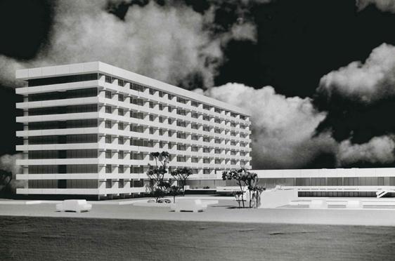 Modell zum ersten Wohnstift: Georg-Brauchle-Haus in Neuperlach