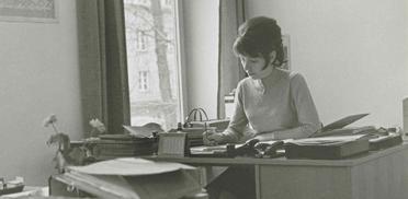 Christine Gebhart: Die erste Mitarbeiterin, die für die Hausbelegung zuständig war