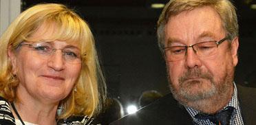 Stiftsdirektorin Monika Belowski und Leiter des KWA Bildungszentrums Karl-Heinz Edelmann