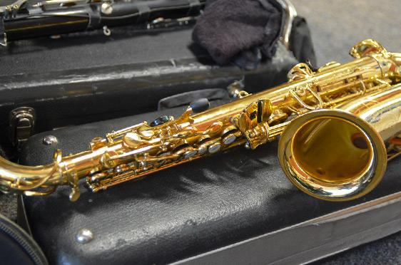 Eines von Mulo Francels Instrumenten wartet auf seinen Einsatz.