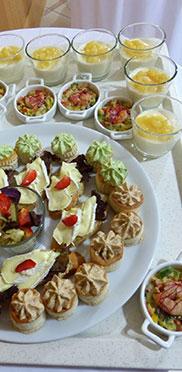 Kulinarisches zur 50-Jahre-KWA-Feier im KWA Stift im Hohenzollernpark in Berlin