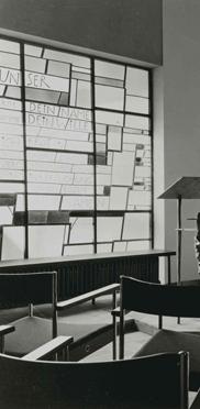 Kapelle im Georg-Brauchle-Haus 1969
