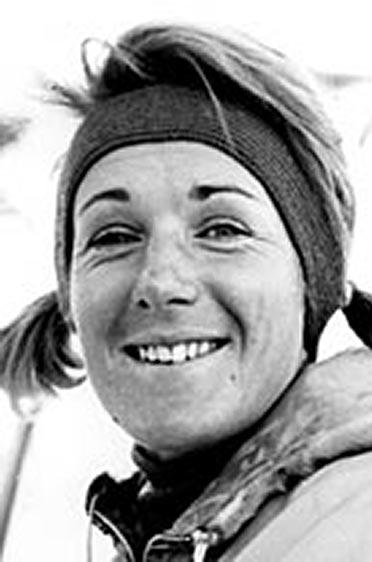 Heidi Biebl 1958.