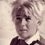 Heidi Biebl 1962 - nun in Blond.