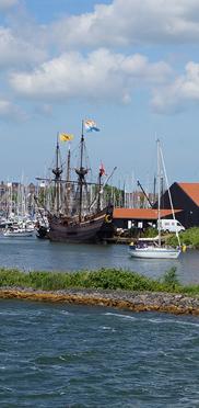 Besuch von Hoorn im Osten der Provinz Nordholland