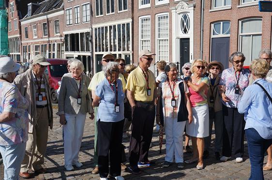 Die KWA Reisegruppe in Hoorn