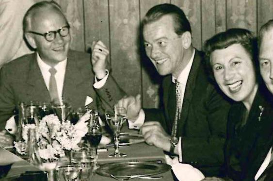 Besuch von Kiesinger, 1958