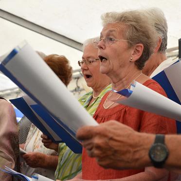 Singkreis des KWA Parkstifts Aeskulap, Sommerfest zum 50sten Geburtstag von KWA
