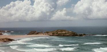 Port Alfred, Küste zum indischen Ozean