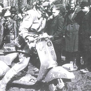 1951 holte Elga Thouret Gold bei der Zuverlässigkeitsfahrt