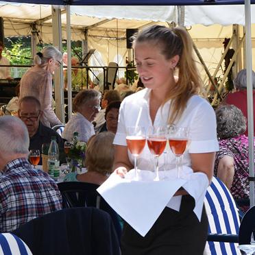 Sommerfest im Parkstift Aeskulap zum 50sten Geburtstag von KWA