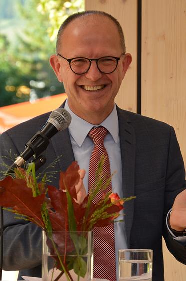 KWA Vorstand Dr. Stefan Arend, 45 Jahre KWA Stift Rupertihof