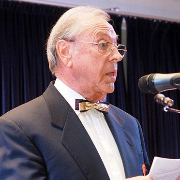 Festredner Norbert Fink, Stiftsbeiratsvorsitzender im KWA Albstift Aalen.