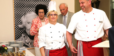 Küchenteam, 40 Jahre KWA Parkstift Hahnhof und 50 Jahre KWA - Jubiläumsfeier