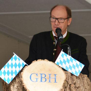 KWA Vorstand Horst Schmieder, Jubiläumsfeier im KWA Georg-Brauchle-Haus