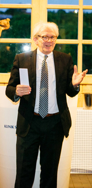 Prof. Dr. Karl Einhäupl, Vorstandsvorsitzender der Charité Universitätsmedizin Berlin
