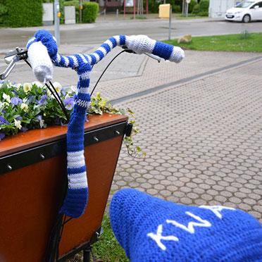 Weißblaues KWA-Radl