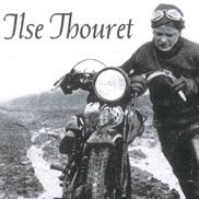 Ilse Thouret im Jahr 1939, in schwierigem Gelände
