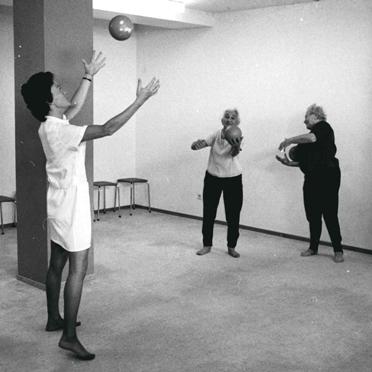 Sport im Wohnstift, 1970