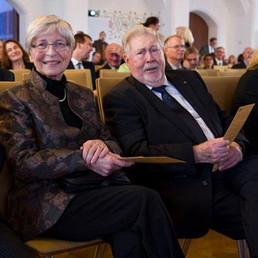 KWA Mitbegründer Hermann Beckmann mit Gattin.