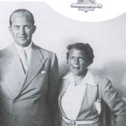 Ilse Thouret mit König Paul von Griechenland im Jahr 1938