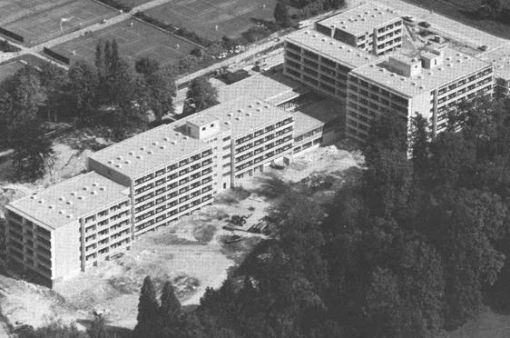 Parkstift Rosenau in Konstanz: das erste Wohnstift in Baden-Württemberg, eröffnet 1973