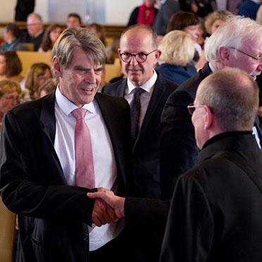 Uwe Freiherr von Saalfeld, ehemaliger KWA Aufsichtsratsvorsitzender.