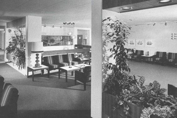 Foyer im KWA Parkstift Rosenau