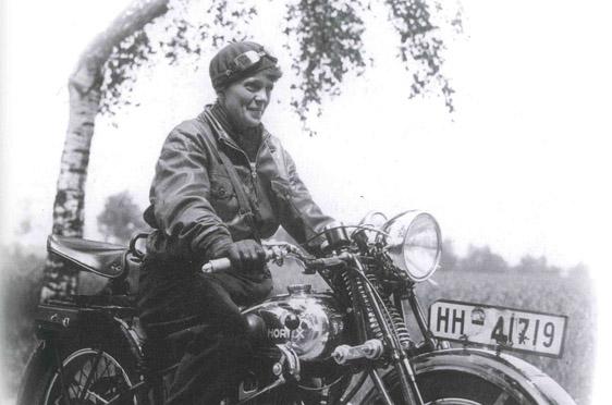 Ilse Thouret im Jahr 1932