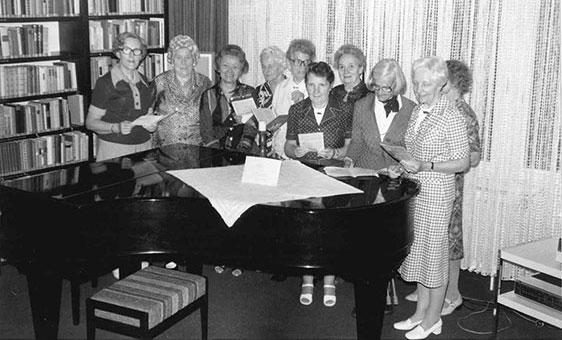 Singkreis im Hahnhof