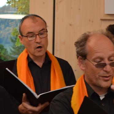Hauke Thomas und die Sunshine Gospels, 45 Jahre KWA Stift Rupertihof
