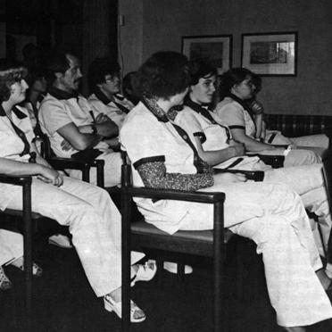 Erster Altenpflegekurs im Jahr 1980