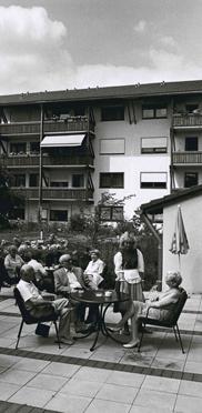 KWA Stift am Parksee, Terrasse